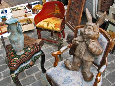 kleine Schätze auf dem Flohmarkt