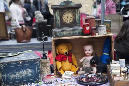 Flohmarkt auch für Kinder ein Erlebnis